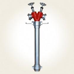 Hidrant portativ 2xC DN80
